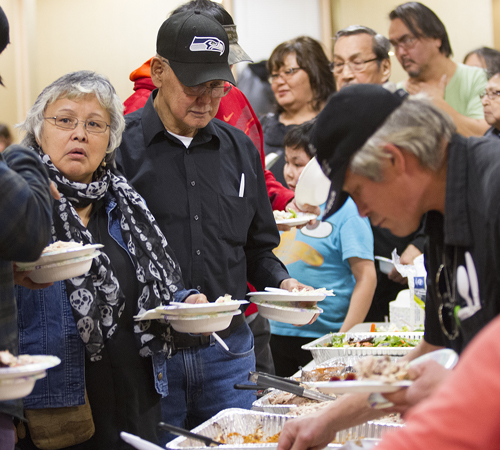Native Student Services Give Thanks Celebration