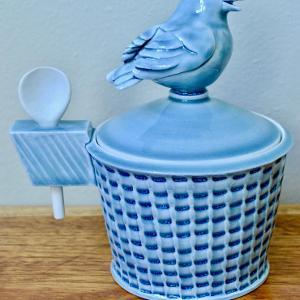 Songbird Salt Bowl