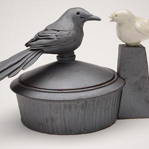 Steve Godfrey's avian pottery