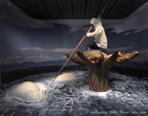 Sculpture of a Whaler