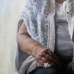 Older woman in her Shawl