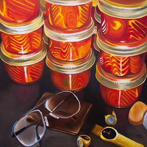 Canned Fish and Glasses