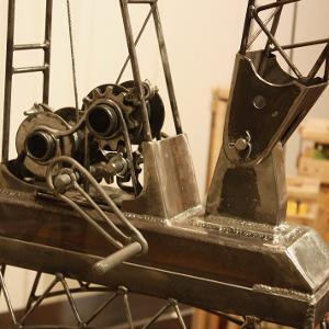Crane structure detail