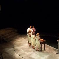 Production photos for Radium Girls by D.W., UAA Department of Theatre and Dance, 2017