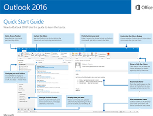 Office 2016 for Windows Outlook Quick Start Guide