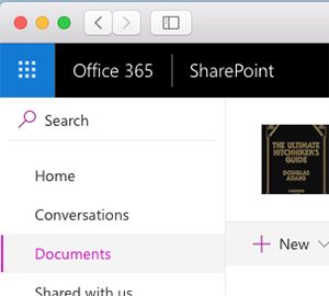 SharePoint Online Site Documents Folder