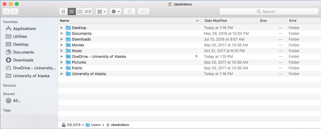 SharePoint site in Mac Finder
