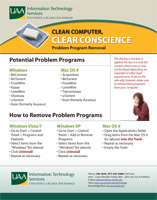 Clean Computer, Clear Conscience Brochure