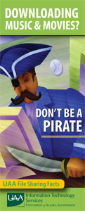 Don't Be A Pirate Brochure