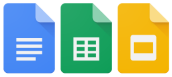 Google Docs, Sheets, and Sides logo