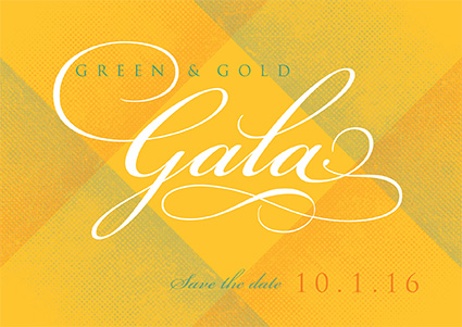 Save the Date: Gala is Oct. 1, 2016