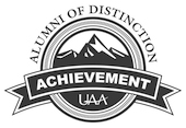 Alumni of Achievement Award logo