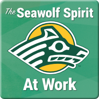 The Seawolf spirit at work. Employee giving.