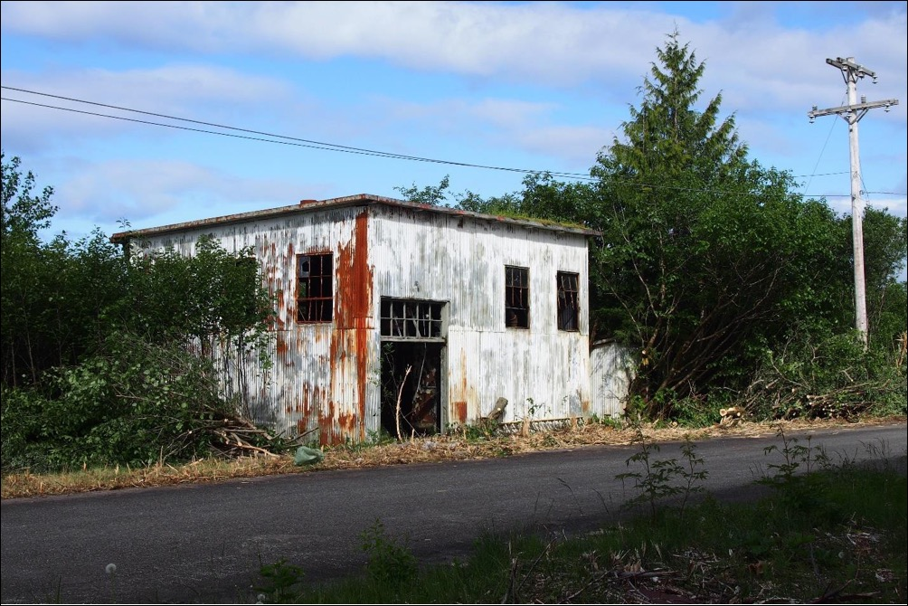 Picture of Annette Island Army Air Field boiler house
