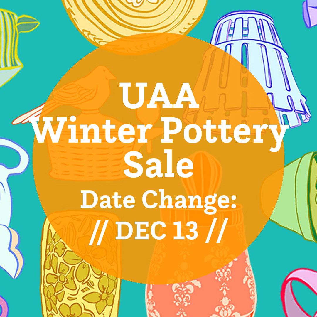 UAA Pottery sale postponed