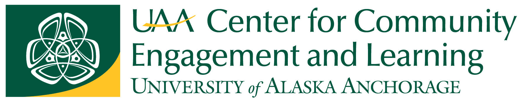 UAA Center for Community Engagement & Learning Logo