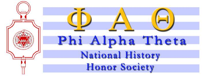 Phi Alpha Theta National History Honor Society