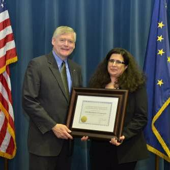 Dr. Masanovic Courtney and Governor