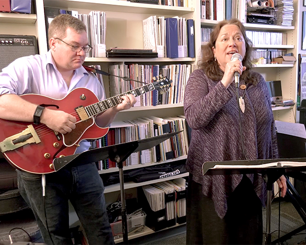 faculty jazz trio office jam