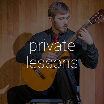 information on private music lesson