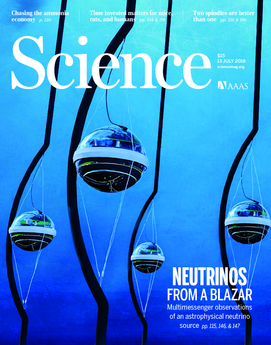 AAAS Science July 2018 Cover