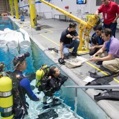 NASA Dive Team