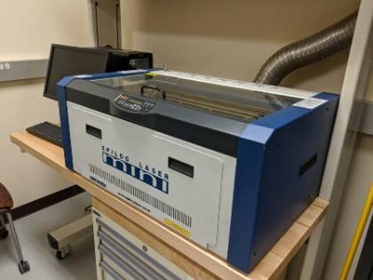 Picture of laser engraver