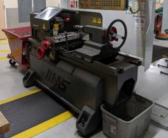 Picture of lathe