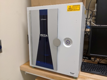 Picture of laser scanner