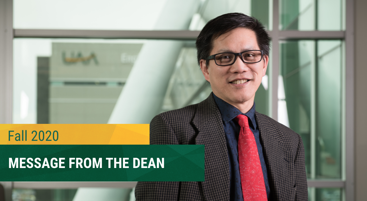 Fall 2020 Message from the Dean
