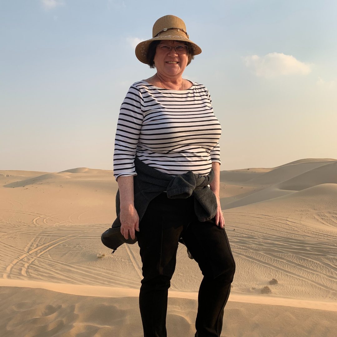 LuAnn in the Desert