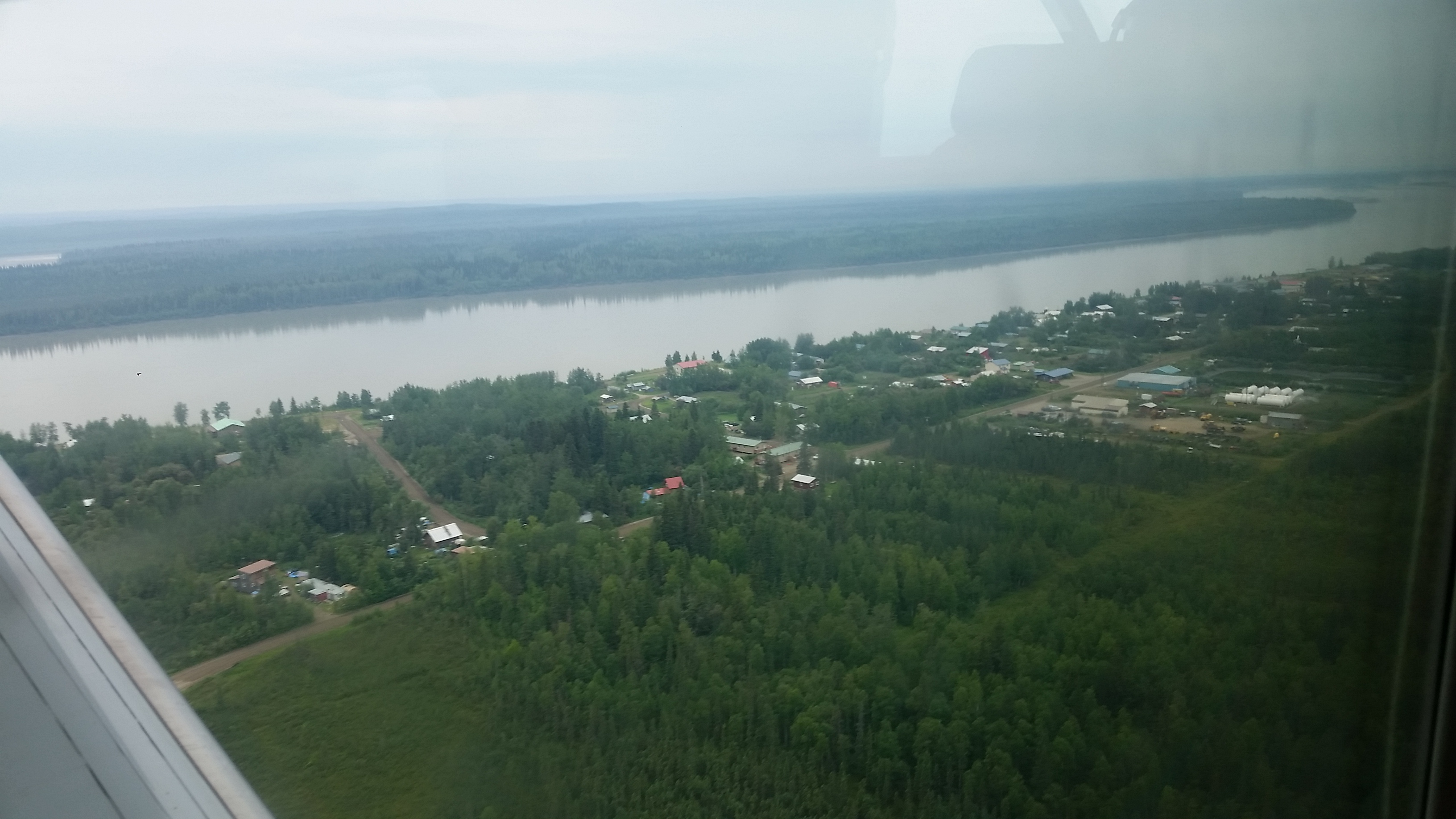 Flight to Tanana