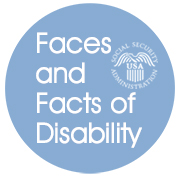 SSA Faces and Facts of Disability logo