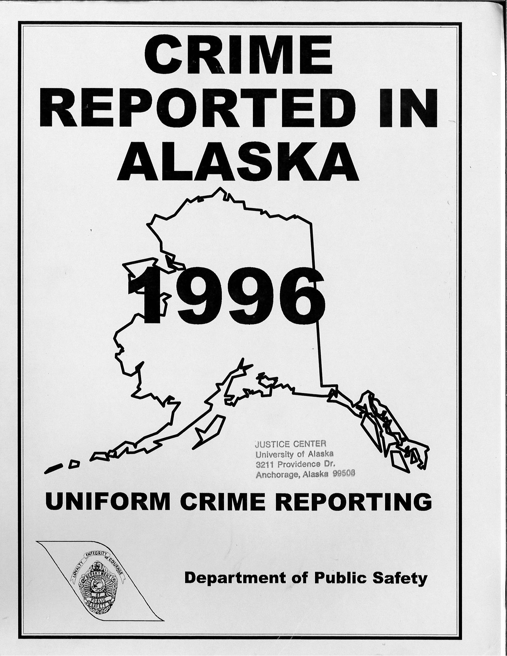 an analysis of the uniform crime report The uniform crime reports program began in 1929 the ucr remained the primary tool for collection and analysis of data for the next half century.
