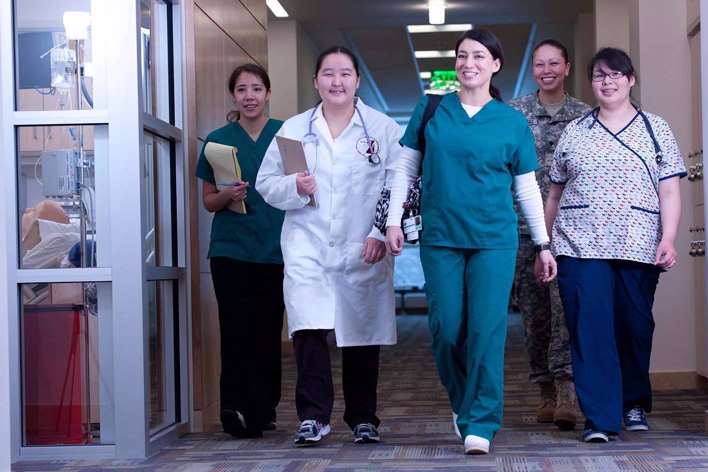 Alaska Native Nursing Students