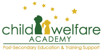 Child welfare academy post-secondary education and training support