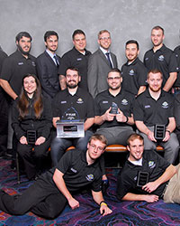 Construction management teams secure second and third place wins at national competition