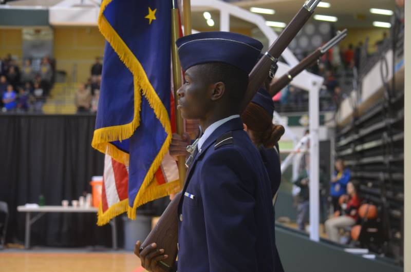 Color Guard Event