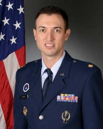 Photo of Maj Tyler Remkus, Operations Officer