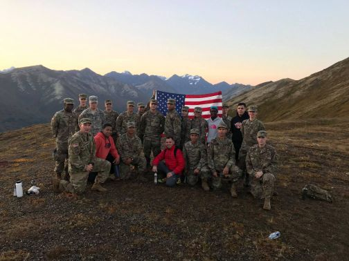 ROTC on Flattop
