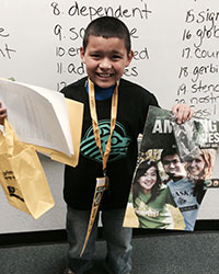 Colorado fifth grader plans to become a Seawolf one day