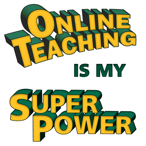 online teaching is my superpower image