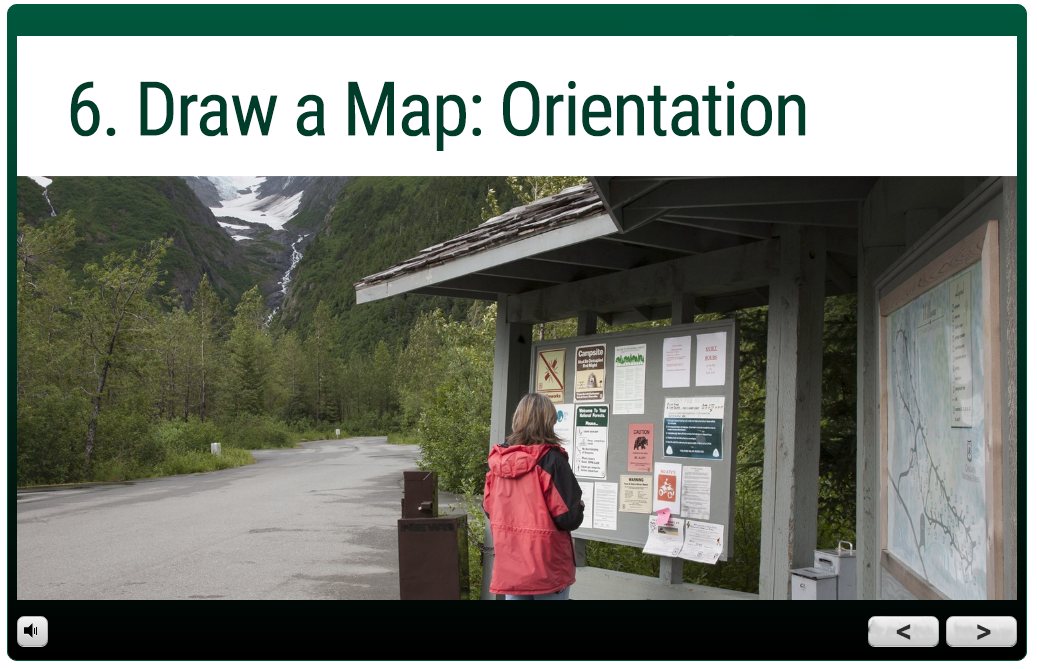 trail guide module: 6. Draw a Map