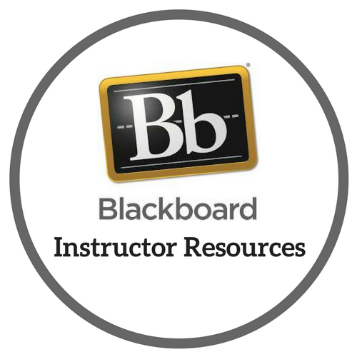 UAA Blackboard Instructor Resources Button