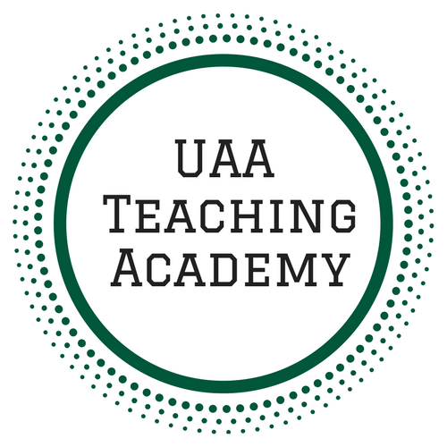 uaa teaching academy logo and link to webpage