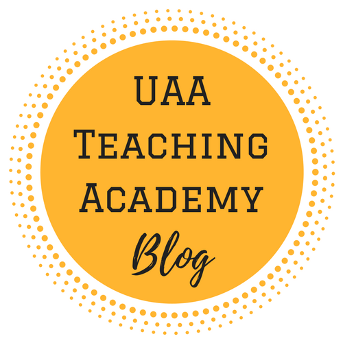 uaa teaching academy blog logo and link to resources