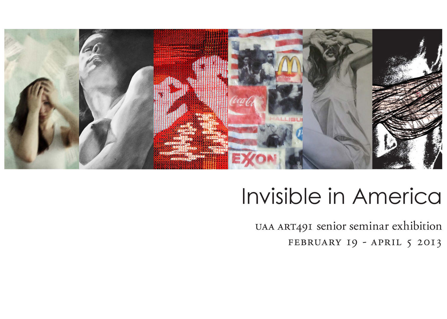 Invisible in America Student Art Show