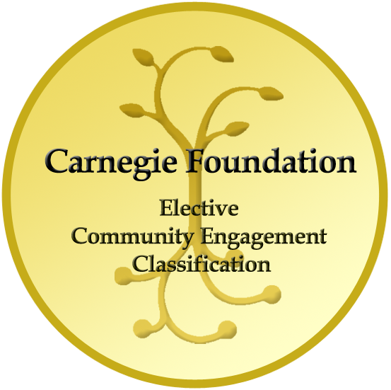 "Carnegie Foundation Logo ""Elective Community Engagement Classification"""