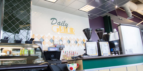 The Daily Grind coffee shop