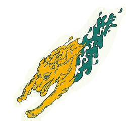 1980 version of UAA's Seawolf mascot